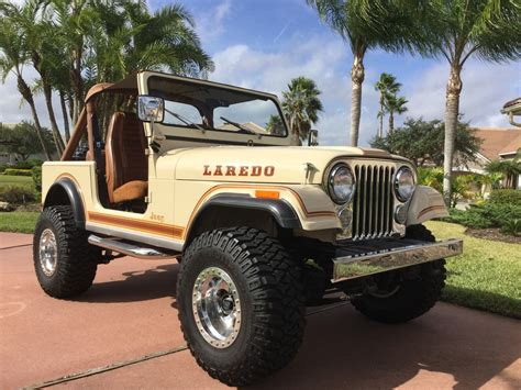 jeep cj laredo jeep cj7 1984 laredo 37k original miles exceptional