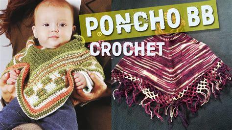poncho para ni a en crochet y agujas circulares tricot poncho para bebe tejidos a crochet dos agujas youtube