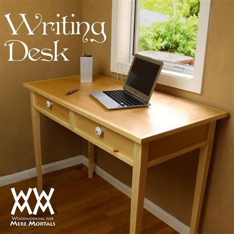 desk plans free free writing desk woodworking plans woodworking projects