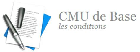 Cmu Plafond 2015 by Cmu De Base Conditions Plafond Formulaire