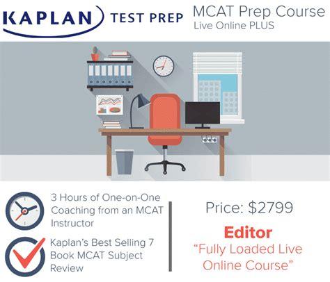 Kaplan Mba Prep Course by Kaplan Mcat Prep Live Plus Prep Courses