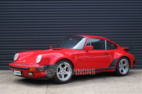 porsche old red sold porsche 930 turbo coupe auctions lot 23 shannons