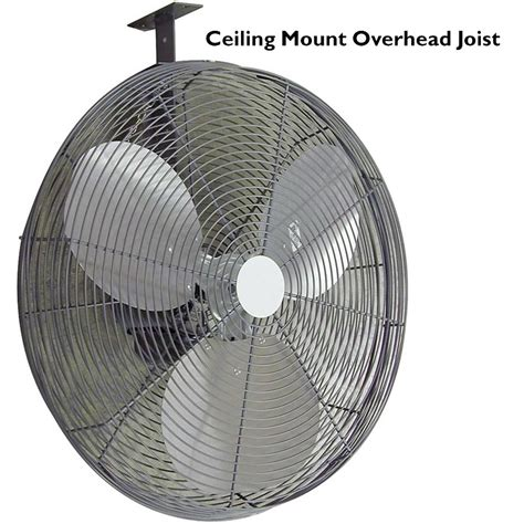 fans to circulate heat valutek industrial barn circulating fan 24 quot farmtek