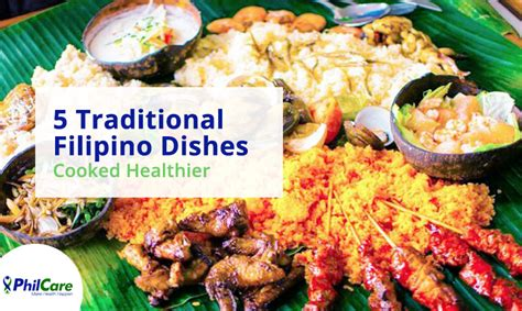 Most Popular Home Plans by 5 Traditional Filipino Dishes Cooked Healthier Philcare