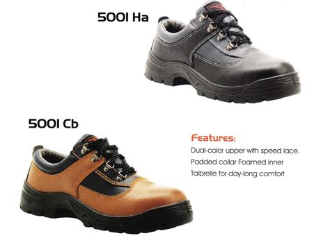 Sepatu Safety Petrova cheetah safety shoes 5001 ha 5001 cb