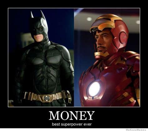 Iron Man Meme - money best super power ever