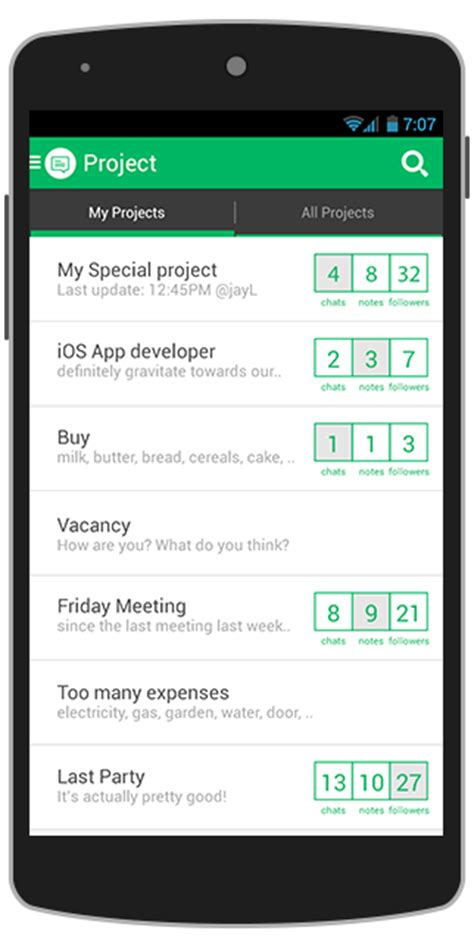 template android studio project chatt android app template