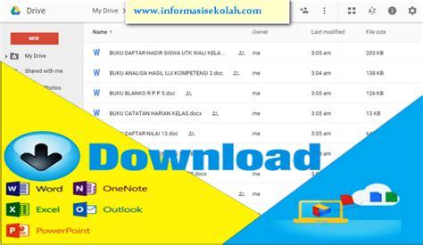 kumpulan format html download kumpulan contoh format administrasi sekolah