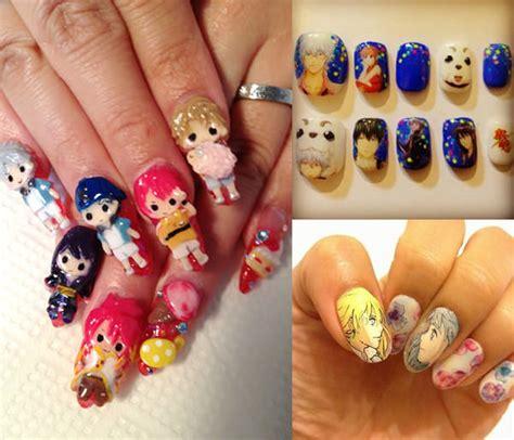 nail art anime tutorial anime nail art best nails art ideas