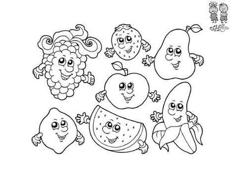 kawaii fruit coloring pages cute fruit coloring coloring pages