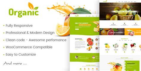 themeforest organic amyorganic organic and healthy theme for wordpress by