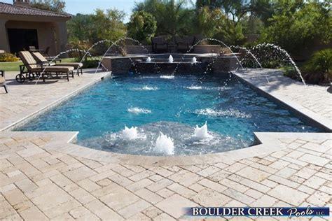 geometric pool geometric pools boulder creek pools and spas