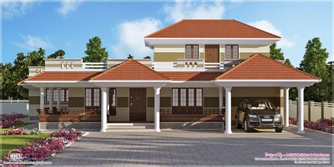 Kerala Style Home Exterior Design bedroom kerala style villa exterior kerala home design and floor