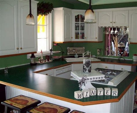 formica countertop painted green home interiors