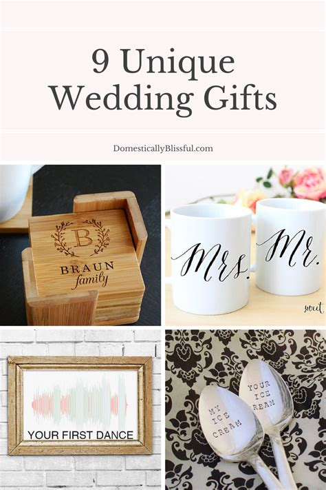 Unique Gifts For - 9 unique wedding gifts