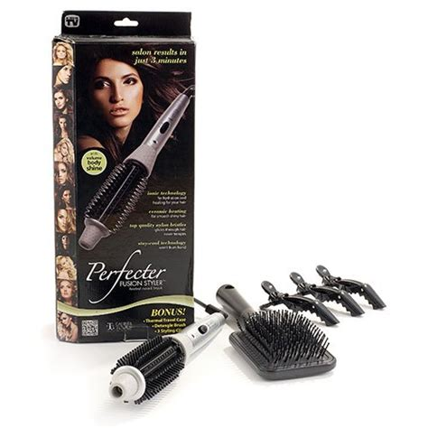 Hair Styler Tools As Seen On Tv by Calista Tools Perfecter Fusion Hair Styler Heated