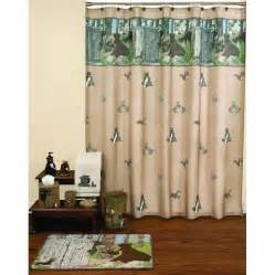 woodland critters gotta go shower curtain and bath croscill magnolia shower curtain