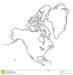 america map blackline master america outline map stock illustration image of mercator 3976972