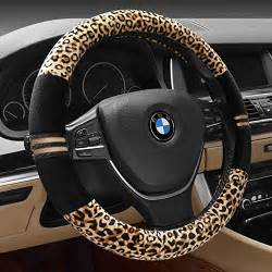 Car Truck Accessories Az Werk Luxury Leopard Print Fashionable Plush Car