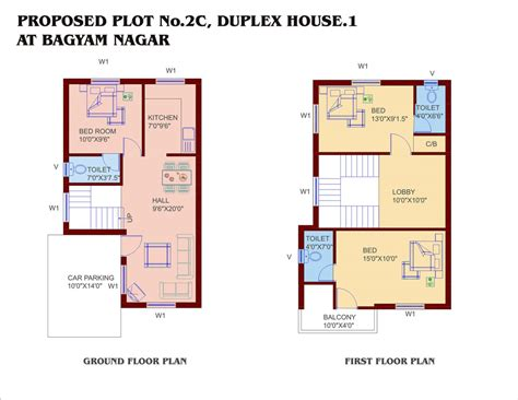 Plan Of Duplex by Small Duplex House Plans Home Designs Building Plans