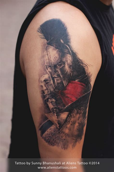 leonidas tattoo leonidas 300 by bhanushali at aliens