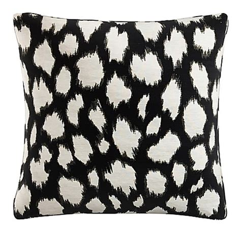 black throw pillows bed bath and beyond buy skyline square throw pillow in black from bed bath
