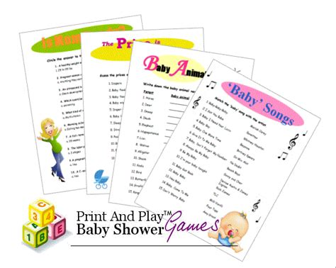 To Play At Baby Shower by Creative Baby Shower