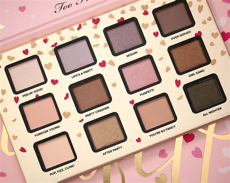 Eyeshadow Faced the faced funfetti set an hsn exclusive coming nov