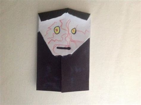 How To Make Origami Emperor Palpatine - emperor palpatine finished product origami yoda