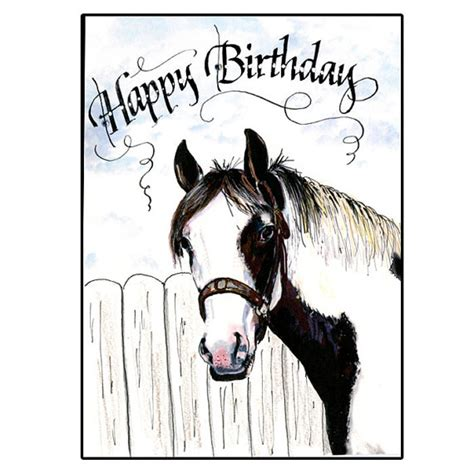 printable horse happy birthday cards happy birthday wishes with horses page 2