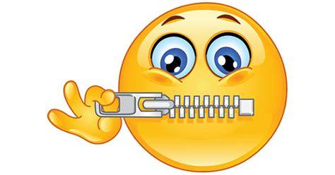 emoji zipped mouth zipping mouth shut symbols emoticons