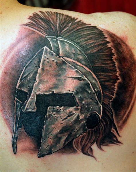 helm tattoo spartan helm by ambrose at arrows embers in concord