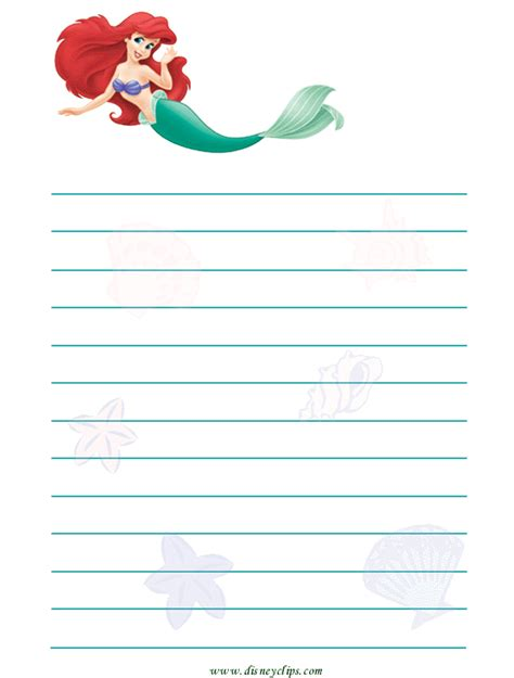 printable princess stationery http www disneyclips com printables imagesjtbs30