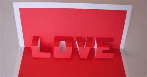 cara membuat kartu ucapan valentine pop up goblog its my bugi cara membuat kartu ucapan 3d