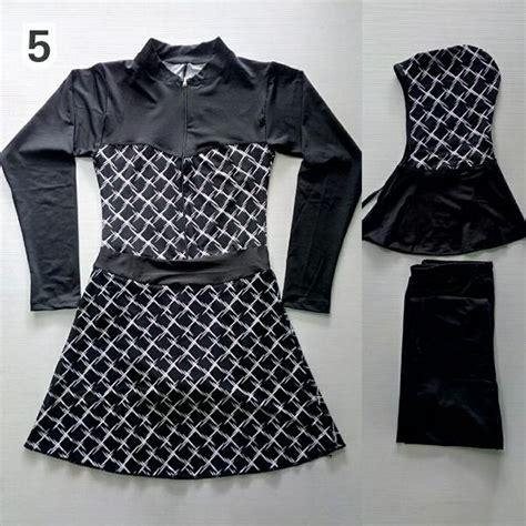 New Baju Diving Dewasa Baju Renang Terusan Istimewa jual baju renang muslimah dewasa hitam garis new di lapak goody good2 store