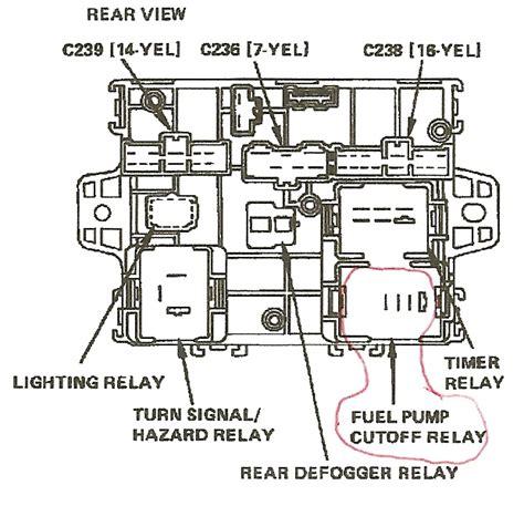 2000 honda accord fuel relay location 91 honda accord fuse box diagram 91 free engine image