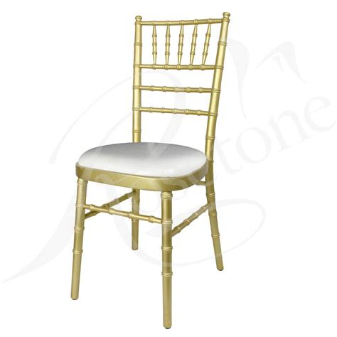 armchair household furniture sale gold chiavari chair with choice of seat pad