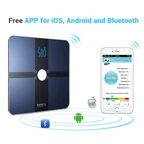 digital scale app for android bluetooth digital bathroom smart scale weight bmi bone for ios android ebay