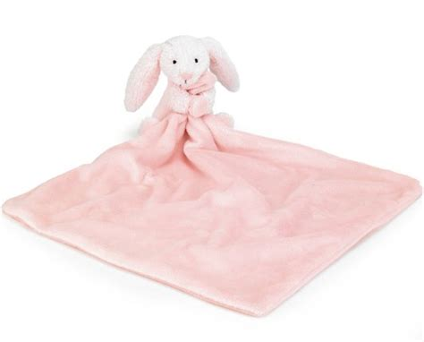 Comfort Blanket For Baby by Jellycat Bashful Pink Bunny Comfort Blanket