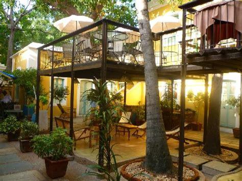 places open open air restaurant picture of hotel du parc
