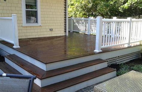 pt pvc dark oak  repairs seal  deck