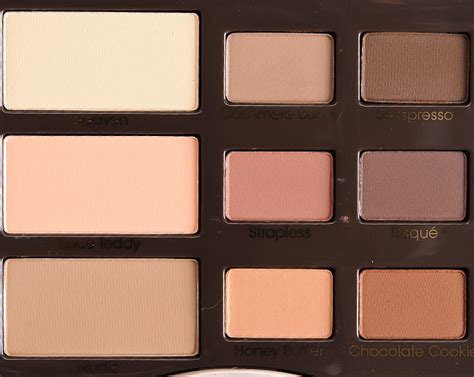 Eyeshadow Faced faced matte eyeshadow palette review photos swatches