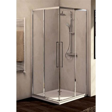 box doccia porta scorrevole ideal standard kubo a porta scorrevole per cabina doccia