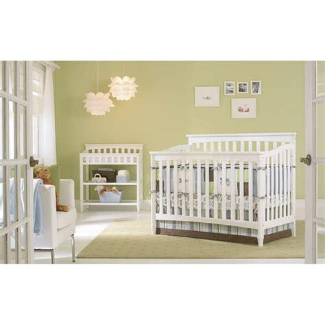 europa baby geneva convertible crib classic white
