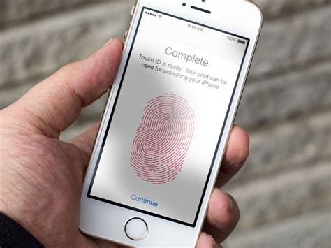 how to use touch id on your iphone or imore