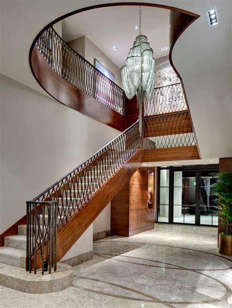 Staircase Banister Reprezentacyjne Schody Willa Palac Duzy Dom Jak Projektowa