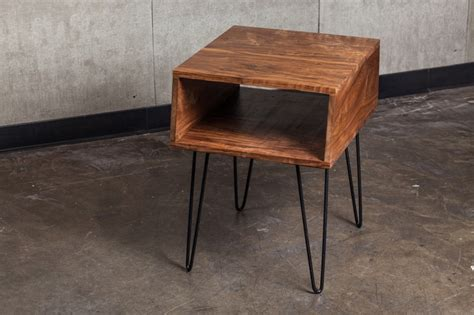 Nightstand Legs by Hairpin Leg Table For Nightstand Style It
