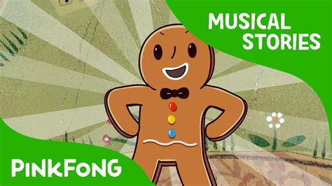 download youtube gingerbread the gingerbread man fairy tales musical pinkfong