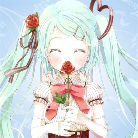 another anime icon by animexfreak1998 on deviantart i love you hatsune mku icon by animexfreak1998 on