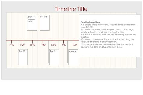 timline template plan timelines outline new calendar template site